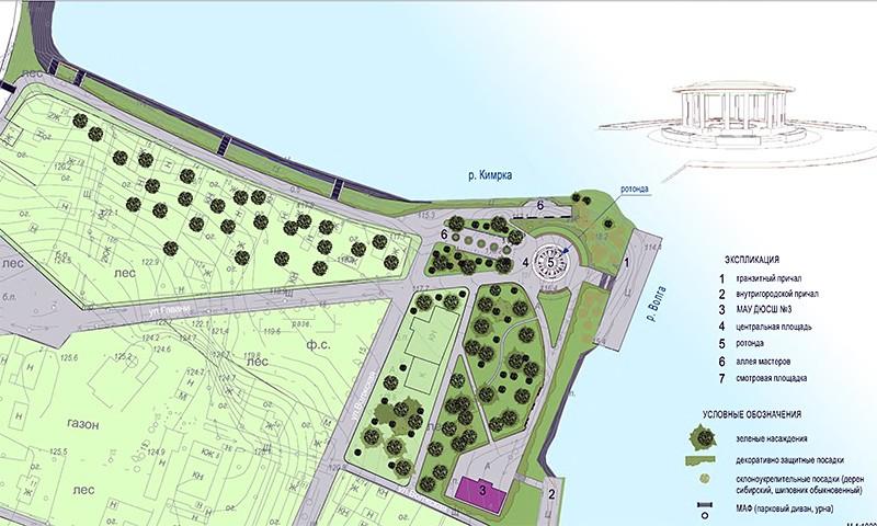 Парковые зоны у кимрских храмов будут благоустроены