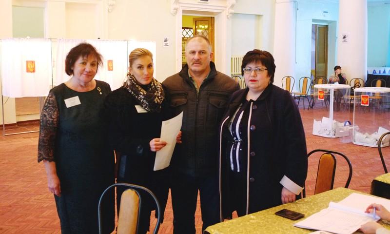 Светлана Брагина поблагодарила земляков за активное участие в выборах Президента России