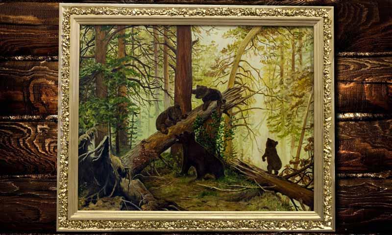 У бабушки в Кимрах украли два триммера и картину «Мишки в лесу»