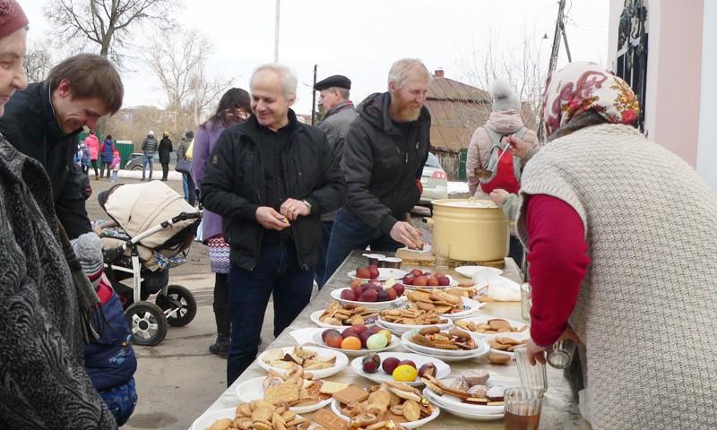 Христиане вместе празднуют