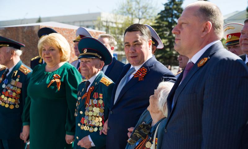 Депутат ТГД Андрей Дмитриев принял участие в праздничных мероприятиях Дня Победы в Твери