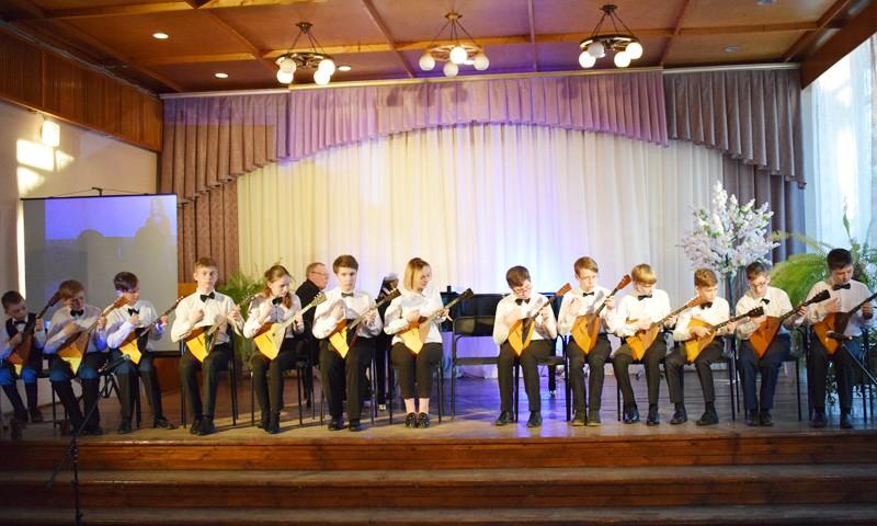 Лауреаты трех школ на сцене одной