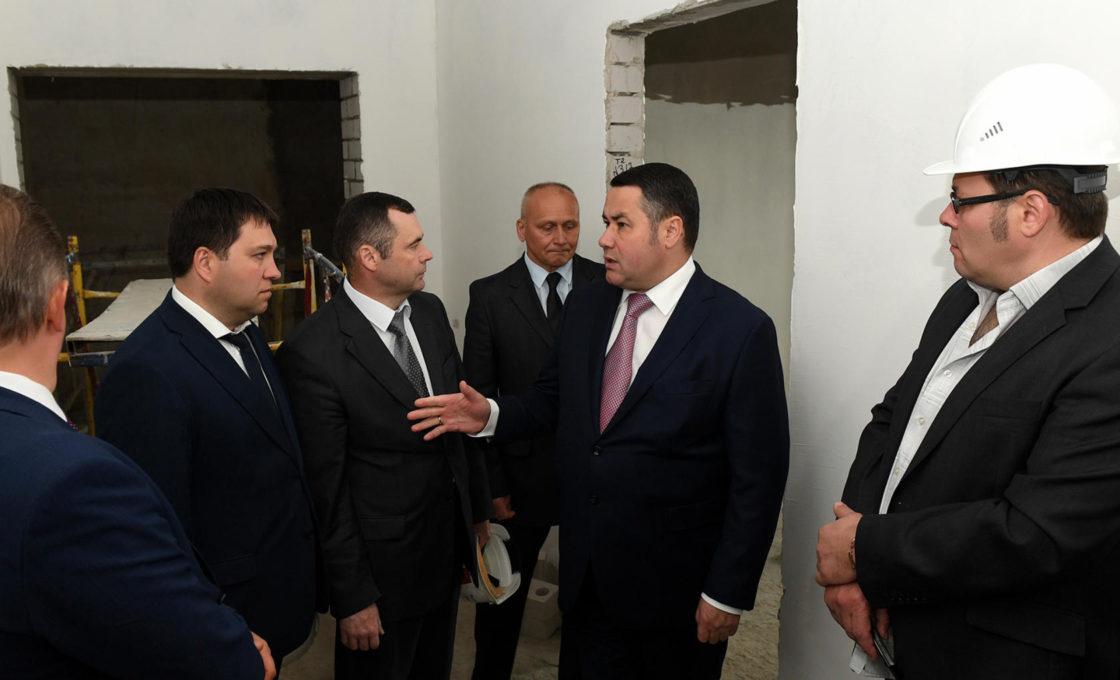 Игорь Руденя поставил задачу завершить все работы не позднее сентября 2018-го.