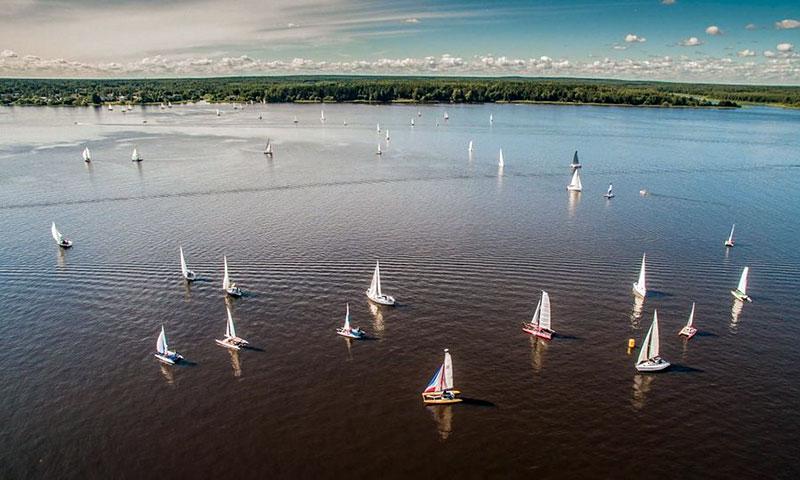 В Тверской области более 100 яхт будут соревноваться на парусном фестивале «Народная регата»