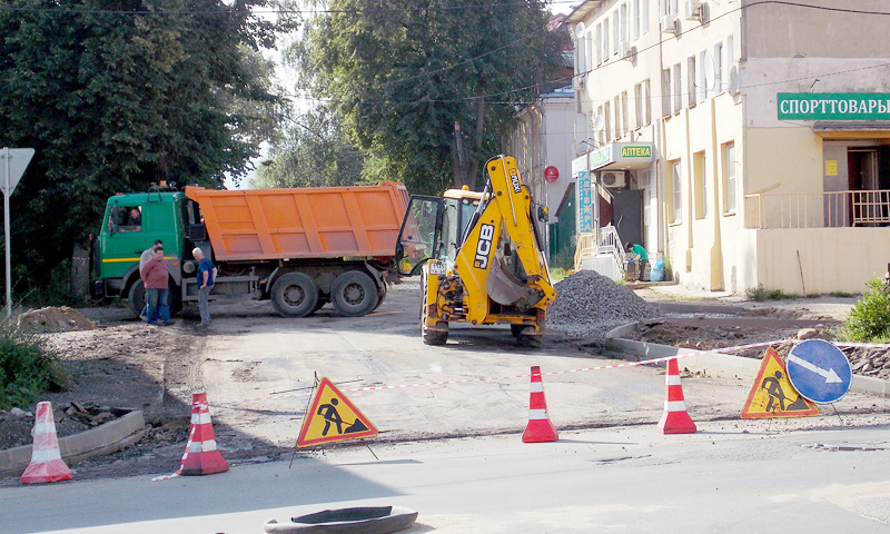 Кто и как ремонтирует в Кимрах дороги?