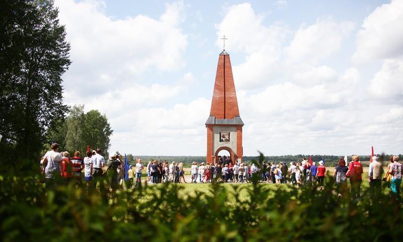 В Бельском районе почтили память воинов-сибиряков, погибших в годы Великой Отечественной войны