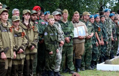 В Тверской области перезахоронили более 320 воинов, погибших в годы Великой Отечественной войны