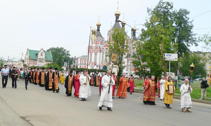 Юбилей прославления местночтимых святых