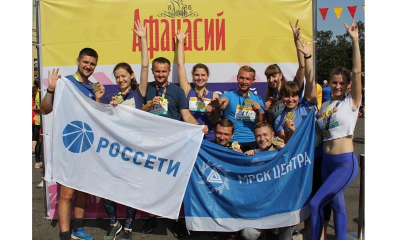 Энергетики Тверьэнерго приняли участие в Тверском марафоне 2018
