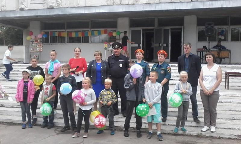 Энергетики совместно с представителями профильных ведомств провели детское мероприятие «Азбука безопасности»