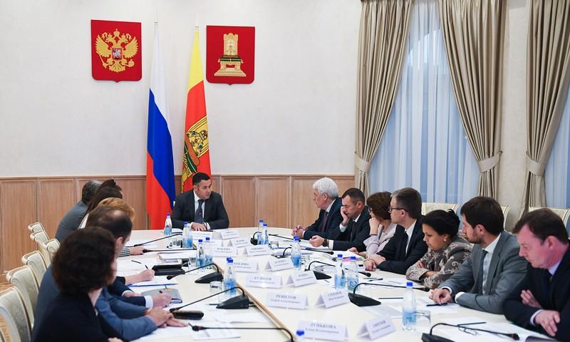 В Правительстве Тверской области обсудили финансирование госпрограмм по развитию спорта, молодежной политики, культуры