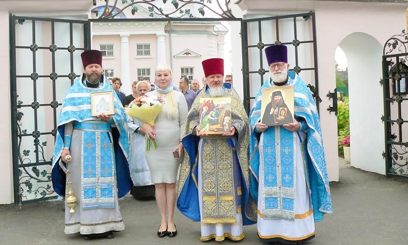 Престольный праздник на Вознесенской стороне