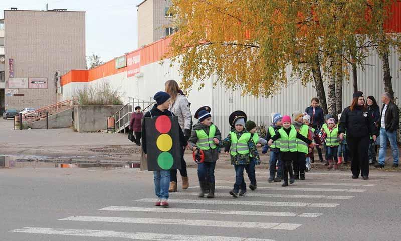 Безопасный маршрут для детей