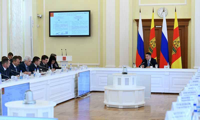Стратегия развития физкультуры и спорта в Тверской области рассмотрена на заседании Правительства