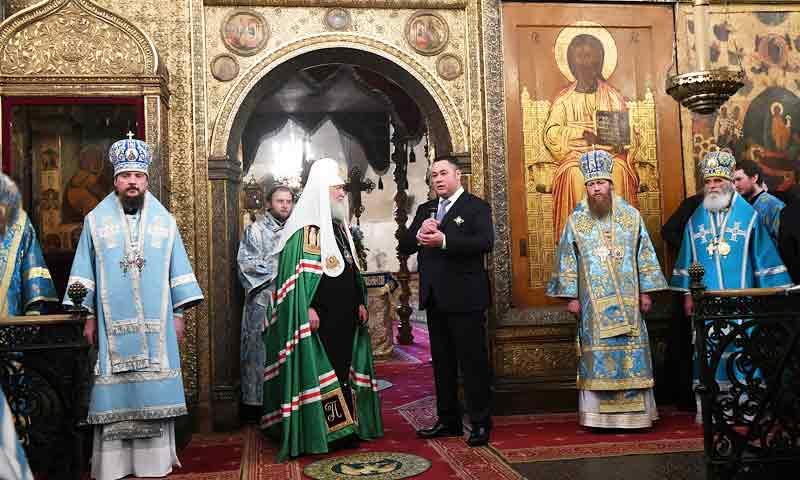 Тверские торжества начались в Москве