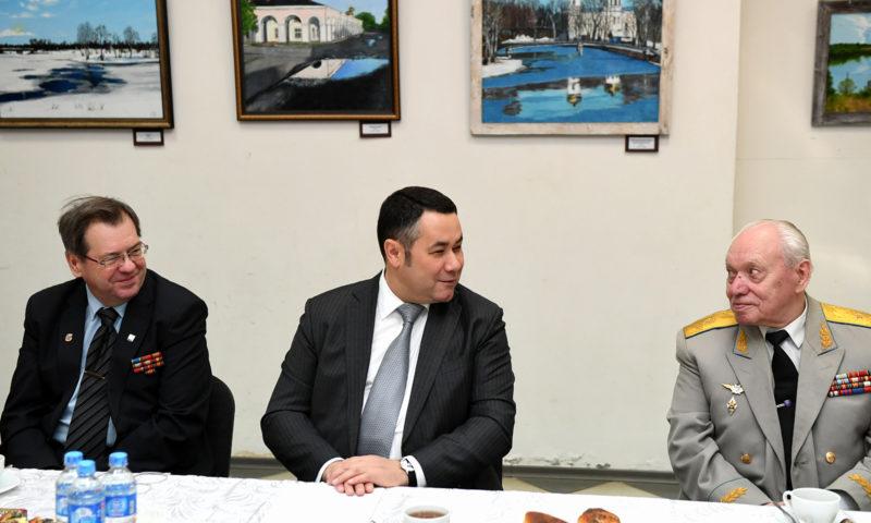 Игорь Руденя встретился с ветеранским активом Вышнего Волочка и района