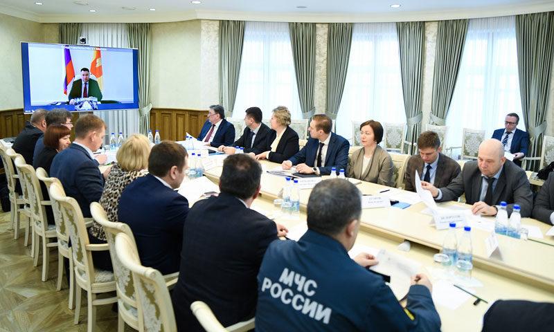 На заседании рабочей группы под руководством Игоря Рудени рассмотрена текущая эпидемиологическая ситуация в Тверской области