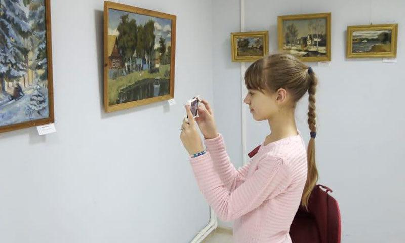 О выставке «Мой город» в Художественной галерее города Кимры