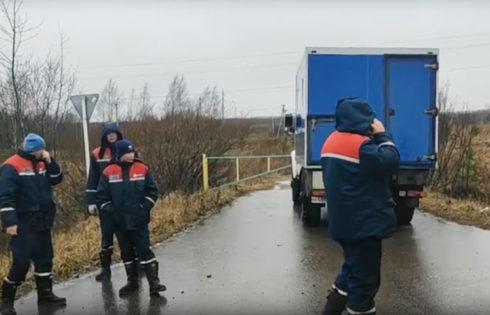 Последствия ночного разгула стихии устраняют в Кимрском районе