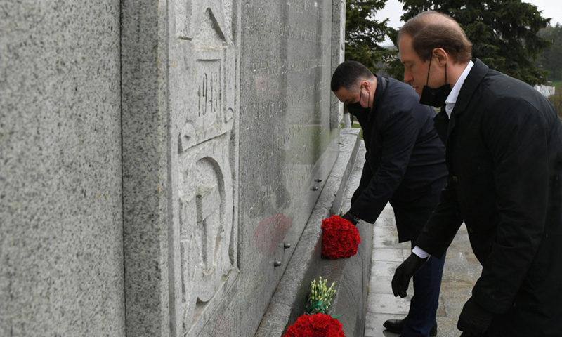 Перед Днем Победы министр Мантуров посетил Кимры и Ржев