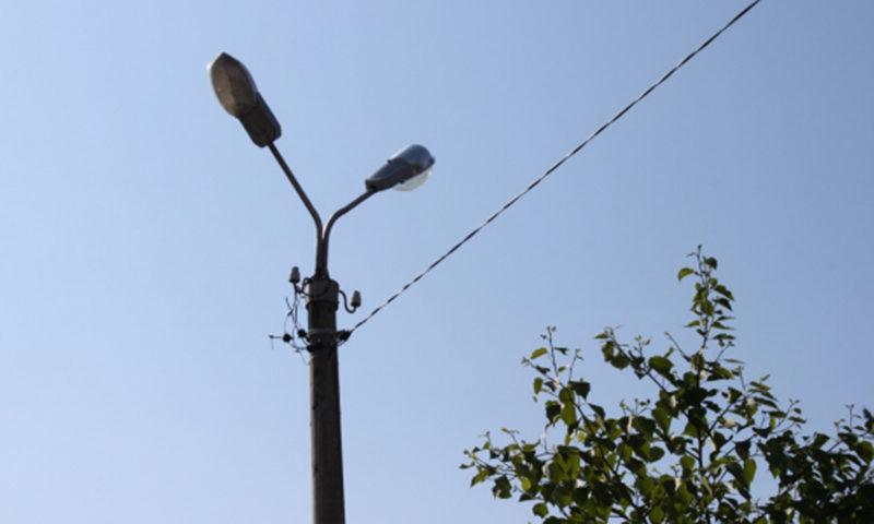 Новые фонари на Желябова