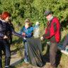 Воспитанники центра Панкова поддержали акцию «Всемирный день чистоты»