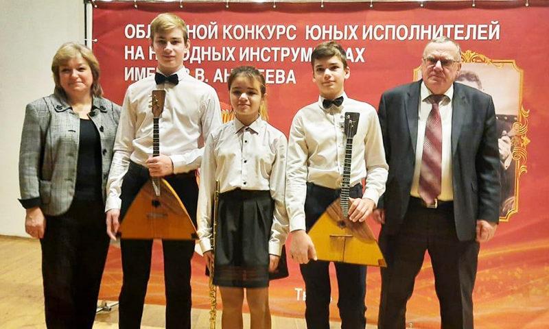 Юные кимряки в числе победителей
