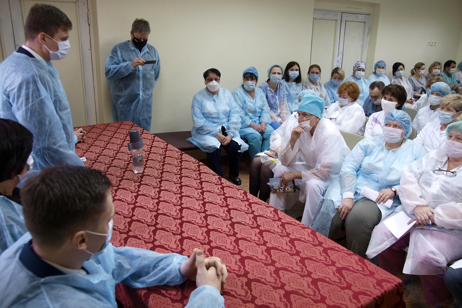 Собрание в Кимрской ЦРБ