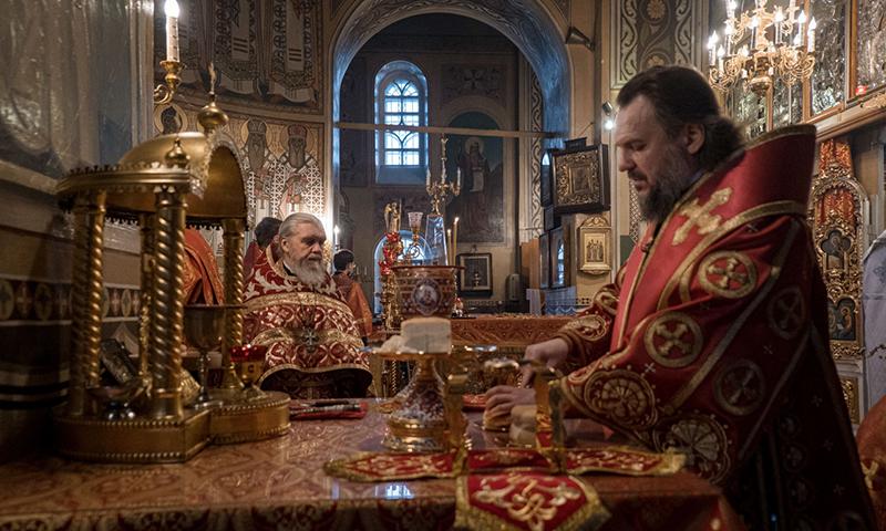 В день кимрских святых митрополит Амвросий был с верующими кимряками