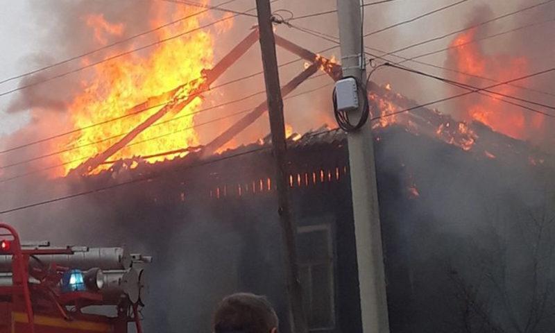 Отряд пожарной охраны №13 г. Кимры напоминает