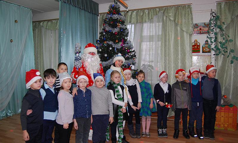 Дед Мороз пришел в Центр Панкова