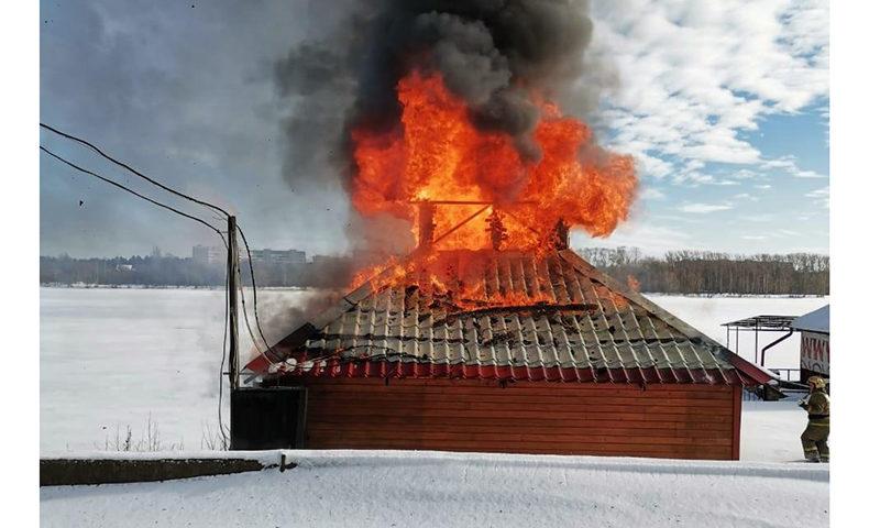 Пожар на берегу