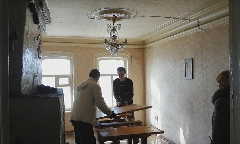 Первый субботник в «Доме сестры Туполева»