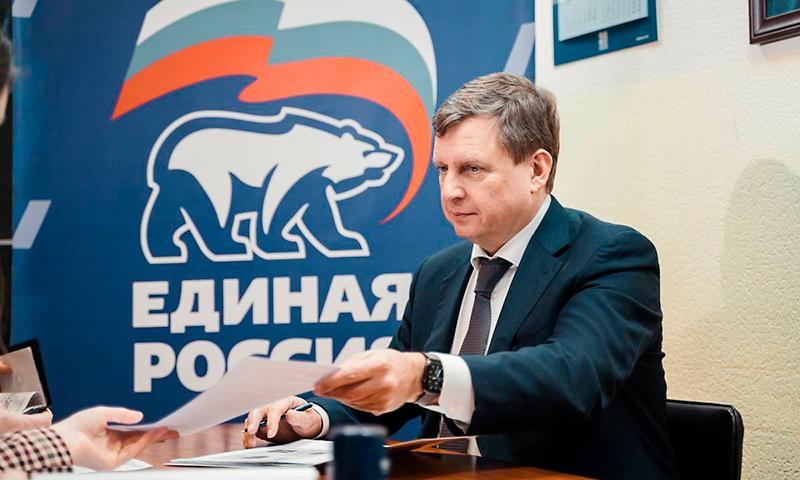 В Твери сенатор Андрей Епишин подал заявку на праймериз «Единой России»