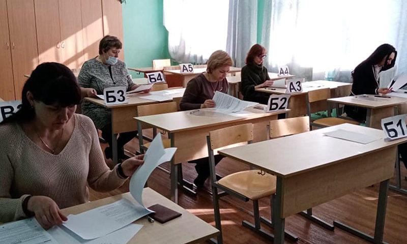 Чтобы поддержать детей, кимрские мамы сдали ЕГЭ по русскому