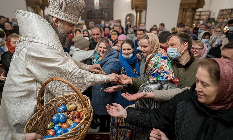 Пасхальное послание Высокопреосвященнейшего Амвросия, митрополита Тверского и Кашинского