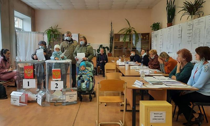 Итоги трехдневного голосования в Кимрах