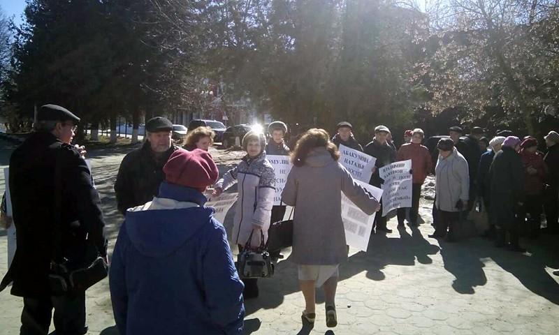 В Кимрах 26 марта провели пикет сторонники отправленного в отставку главы города