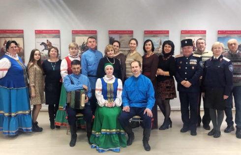 Выставка о российском казачестве